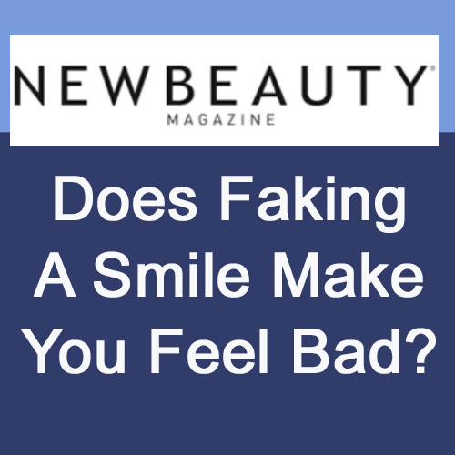 Does Faking A Smile Make You Feel Bad?