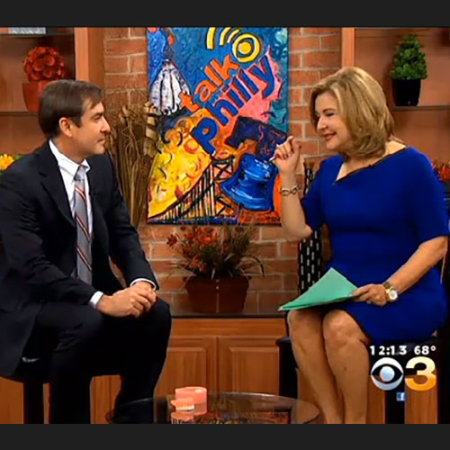 Dr. Alfano discusses AvaDent Digital Dentures Live on CBS Talk Philly