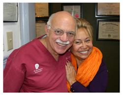 A new smile with dental implant treatment